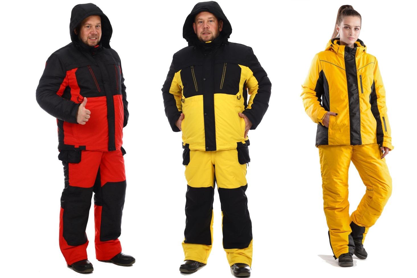 Новые зимние мембранные костюмы