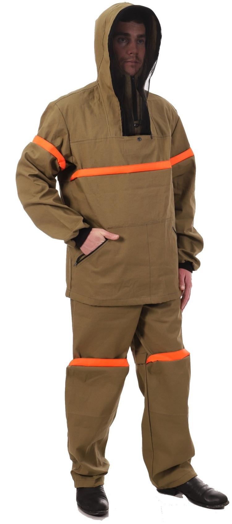 Антимоскитный костюм с ловушками